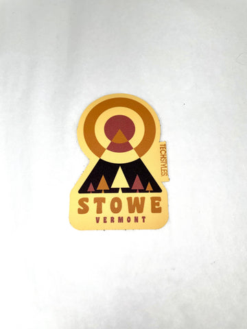 Geo Mountain Sticker