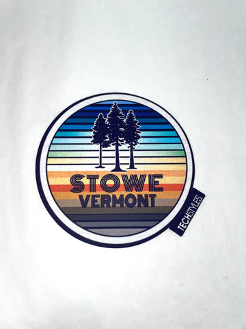 Vintage Tree Vibes Stickers