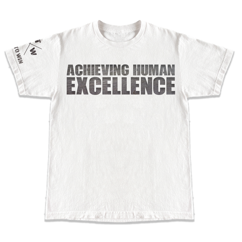 Achieving Human Excellence - White