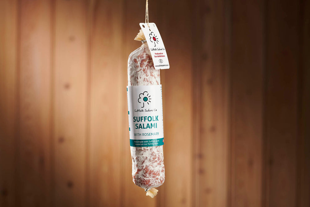 Load image into Gallery viewer, Small Rosemary Salami