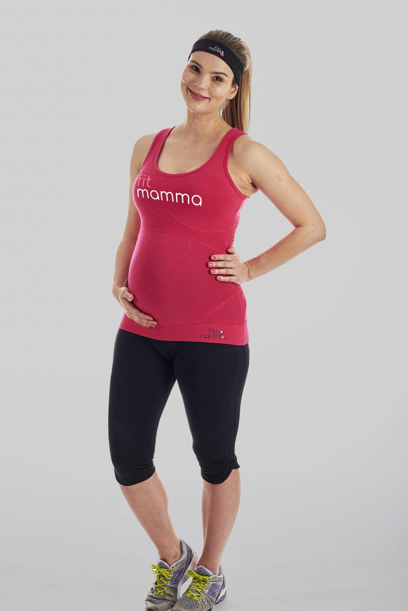FitMamma Maternity Workout Support Top - FittaMamma