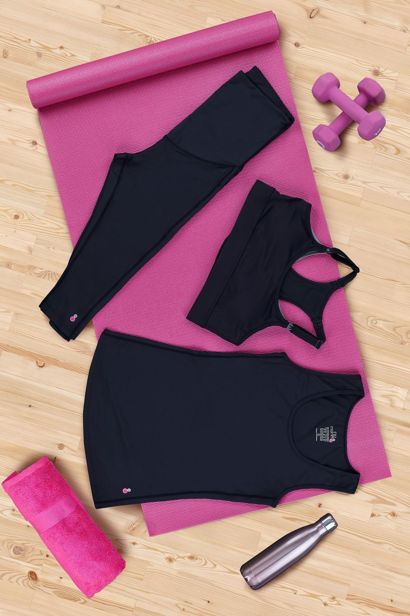 Made To Move Maternity Activewear Kit: 3/4 Leggings
