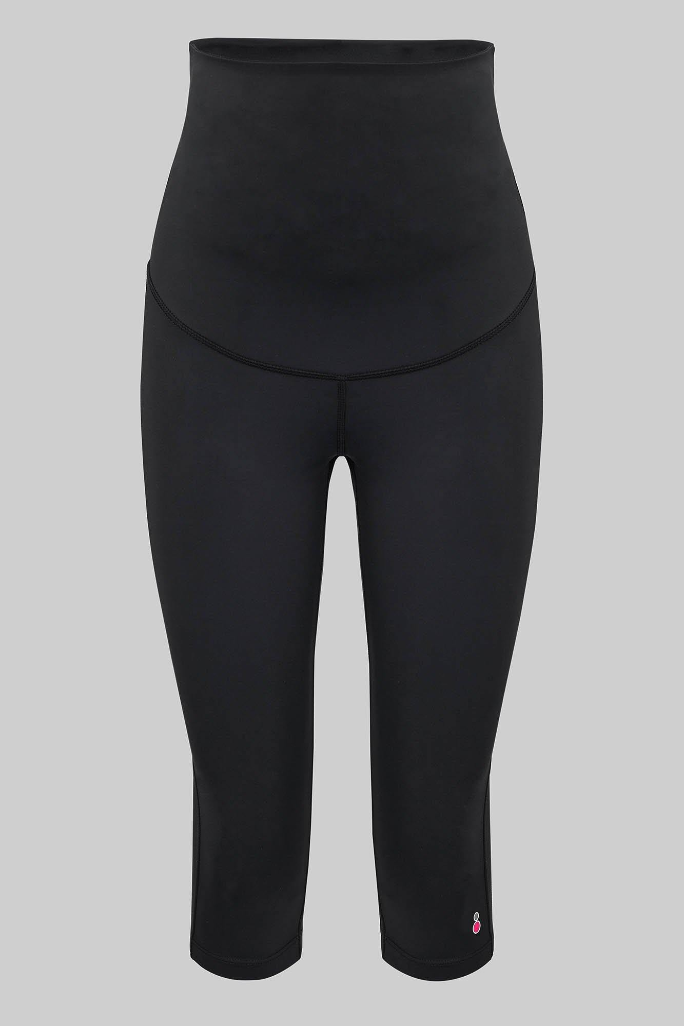 ¾ Maternity Sport Cropped Leggings - FittaMamma