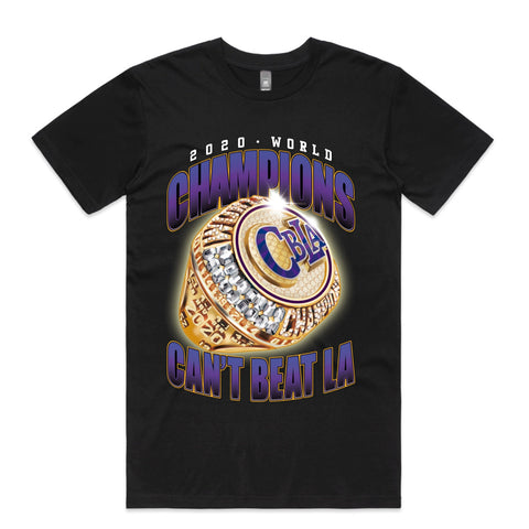 CANT BEAT LA x CHAMPIONS RING TEE