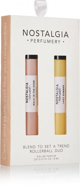 Walk In The Sand/Lazy Summer 2-pc Rollerball Gift Set