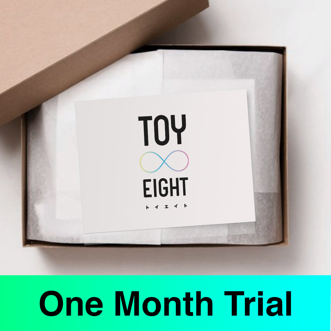 TOY8 One Month Trial Box for 3-5 years old