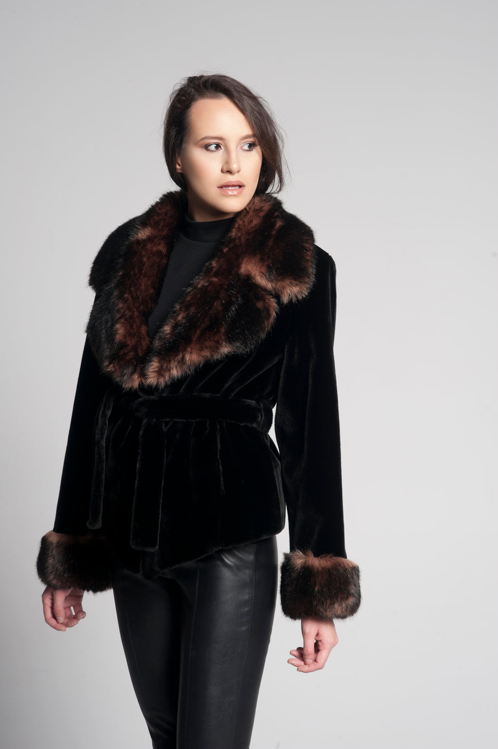 Astrid Mini Faux Fur Jacket