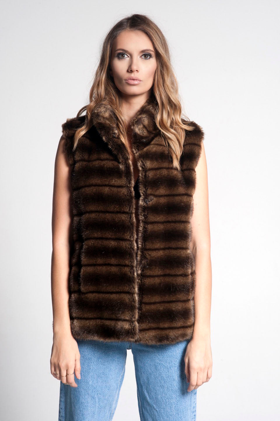 Frida Faux Fur Vest