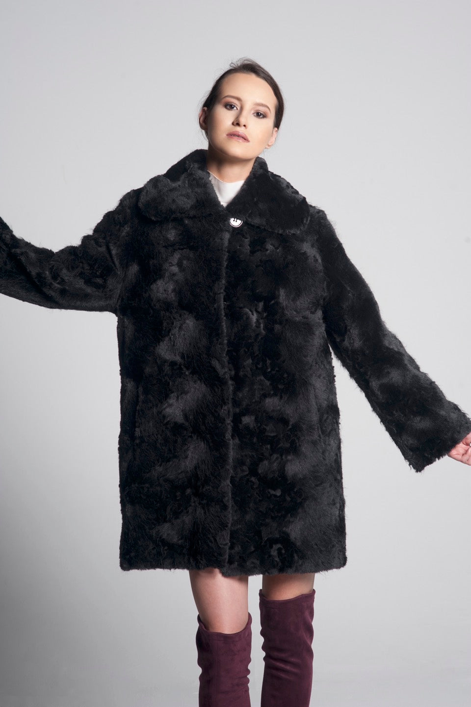 Beatrice Faux Fur Coat