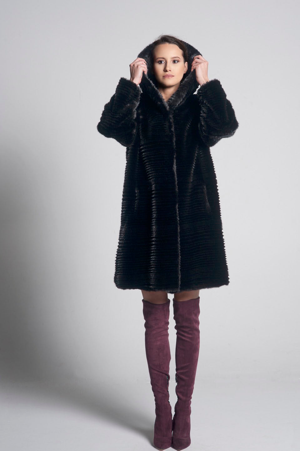 Mia Hooded Coat