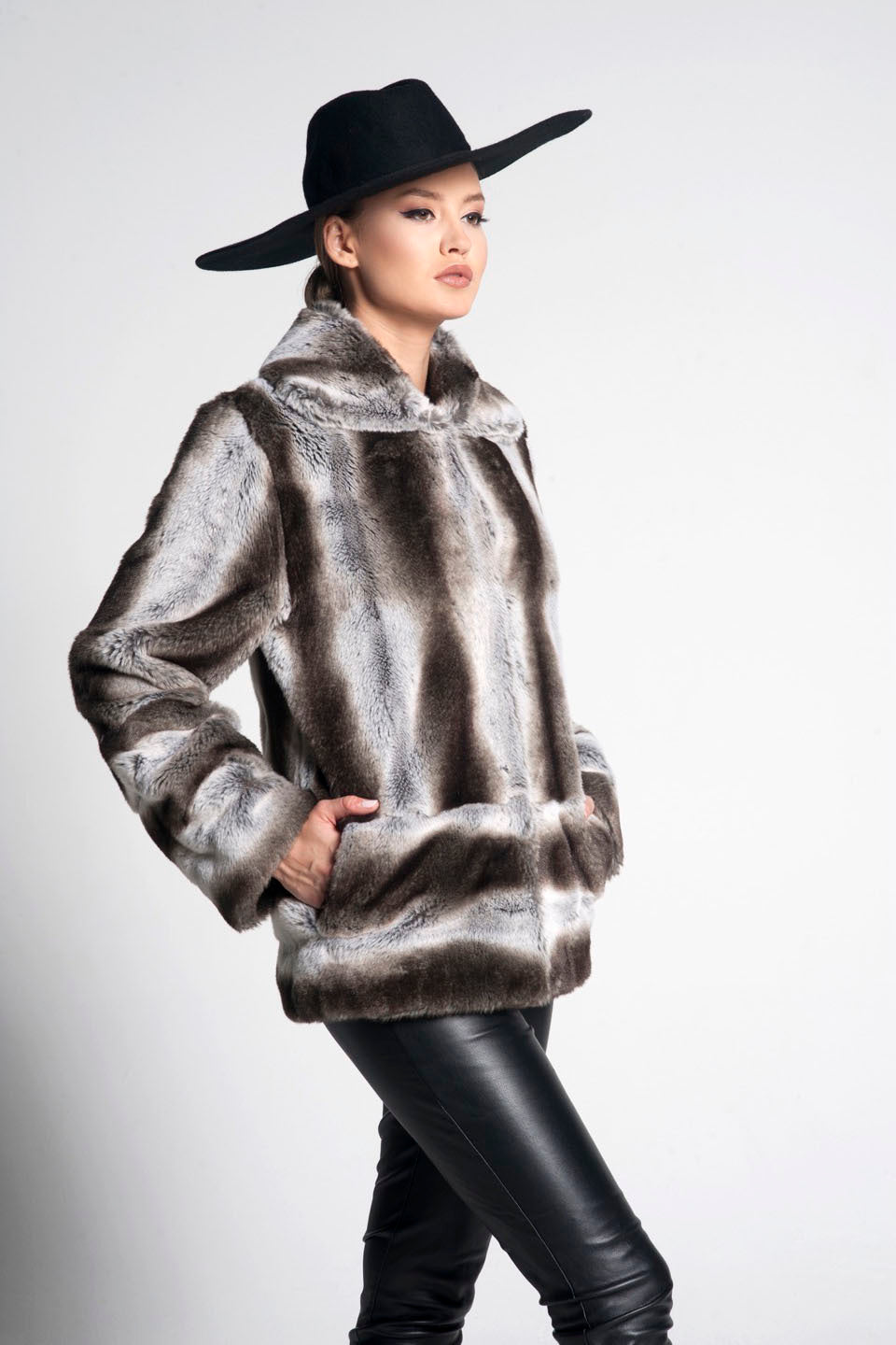 Charlotte Faux Fur Coat