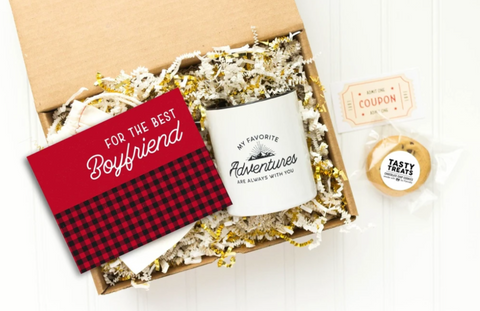 'For the Best Boyfriend' Premade Care Package