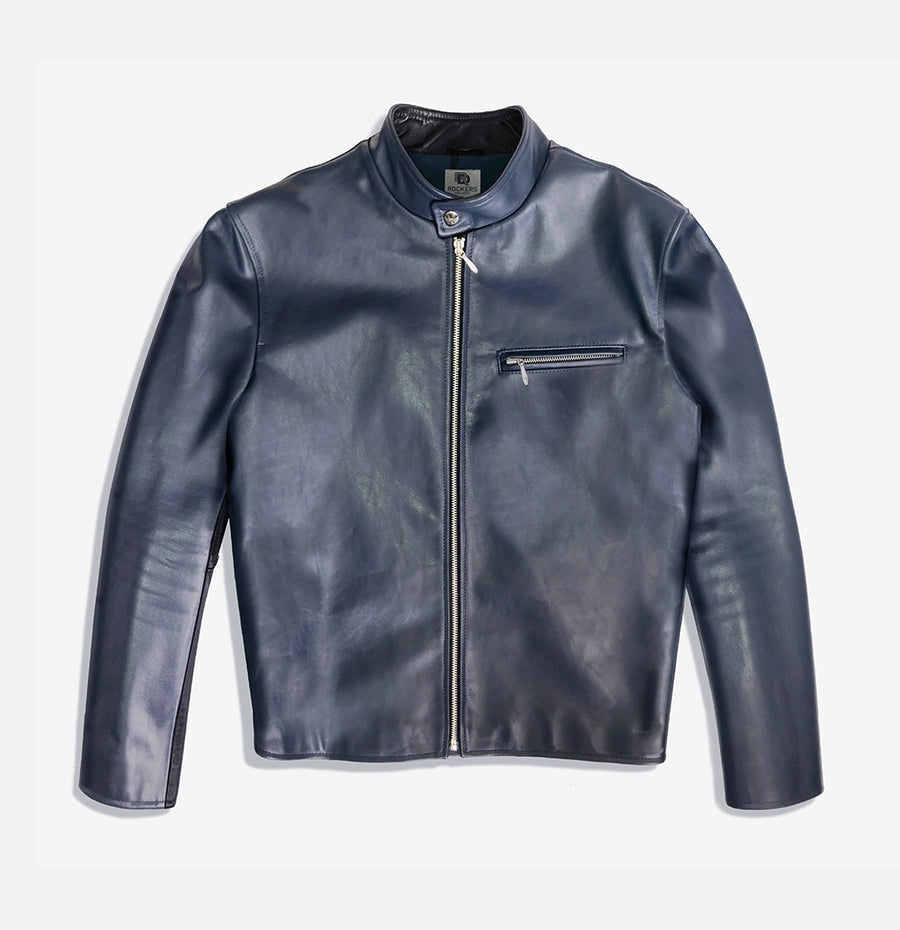Jett Café Racer Leather Jacket