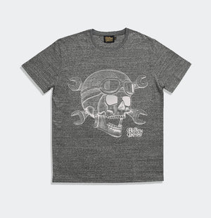Trelick Rockers T-shirt Slub-Heather Steel Grey