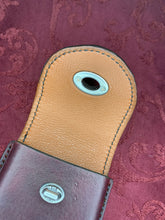 Load image into Gallery viewer, Leather Mobile Phone Case-Size 8-Merlot/ Dark Chocolate