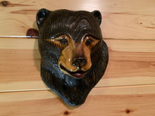 Load image into Gallery viewer, Black Bear Impression Wood Carving