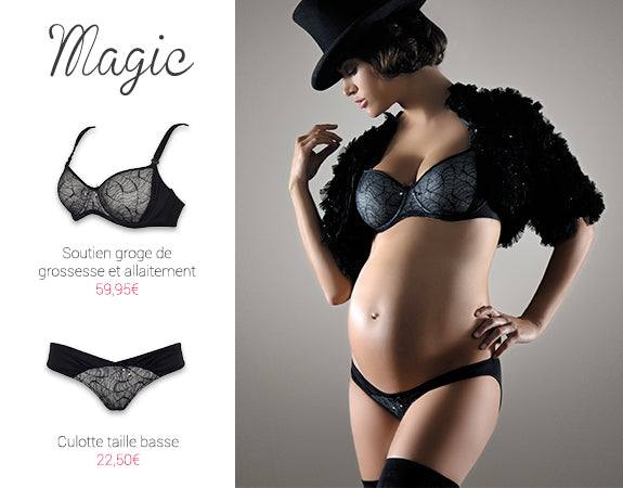 Discover Magic Pregnancy and Breastfeeding Lingerie