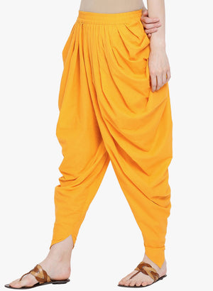Load image into Gallery viewer, Fabnest womens dhoti salwar in solid black cotton-Salwar-Fabnest