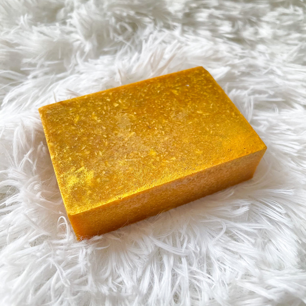 Cooling Shea + Turmeric Exfoliating Soap Bar