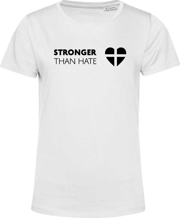 """Stronger Than Hate"" Damen Bio T-Shirt"