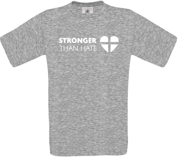 """Stronger than hate"" Kindershirt"