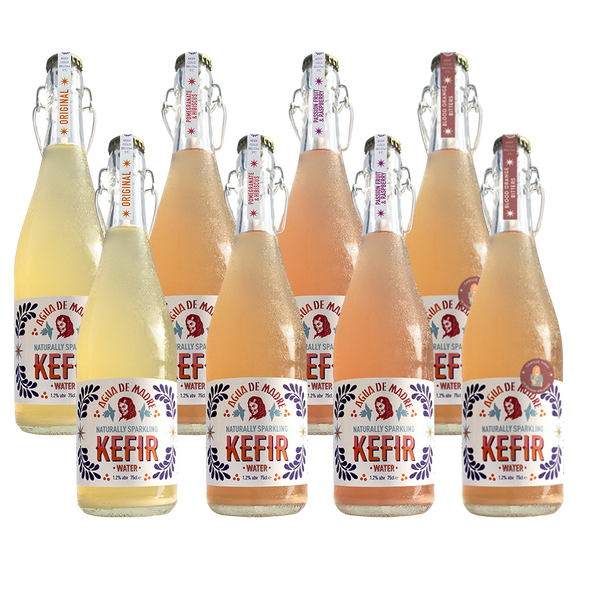Sign up & Save Mixed Kefir Water case (8 bottles)