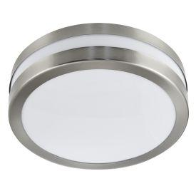 Searchlight 2641-28 Stainless Steel Ip44 2 Light Flush Outdoor With Polycarbonate Diffuser