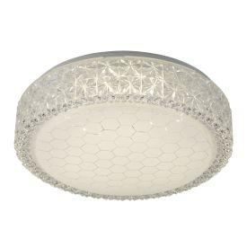 Searchlight 5750-28 Led Flush Fitting, Honeycomb Pattern Shade