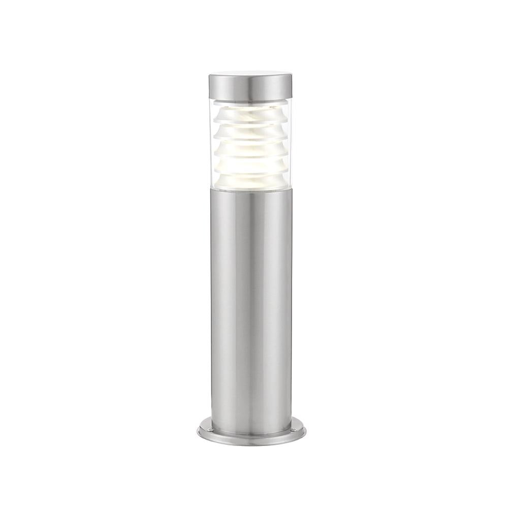 Endon 72914 - Equinox Led Post Ip44 10W Marine Grade Brushed Stainless Steel & Clear Pc