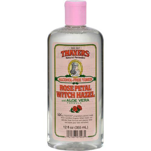 Thayers Witch Hazel with Aloe Vera Rose Petal - 12 fl oz