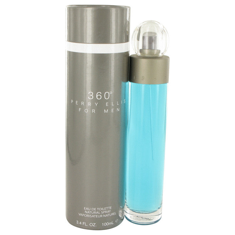 perry ellis 360 by Perry Ellis Eau De Toilette Spray 3.4 oz (Men)