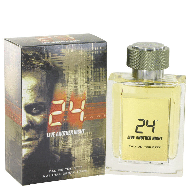 24 Live Another Night by ScentStory Eau De Toilette Spray 3.4 oz (Men)