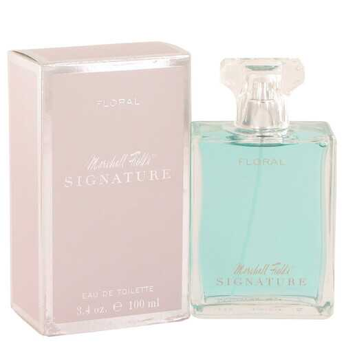 Marshall Fields Signature Floral by Marshall Fields Eau De Toilette Spray (Scratched box) 3.4 oz (Women)