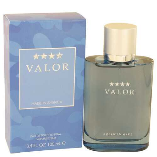 Valor by Dana Eau De Toilette Spray 3.4 oz (Men)