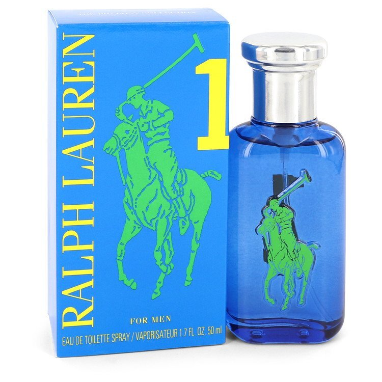 Big Pony Blue by Ralph Lauren Eau De Toilette Spray 1.7 oz (Men)