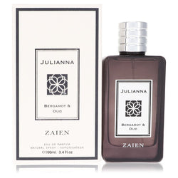 Julianna Bergamot & Oud by Zaien Eau De Parfum Spray (Unisex) 3.4 oz (Women)