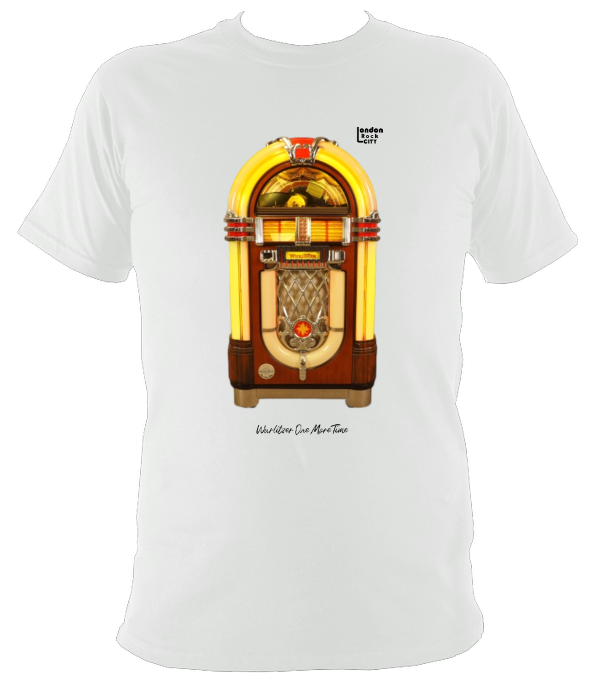 Wurlitzer One More Time Princess Jukebox Original T-Shirt