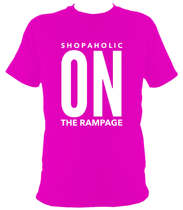 Shopaholic On The Rampage Reverse Original T-Shirt