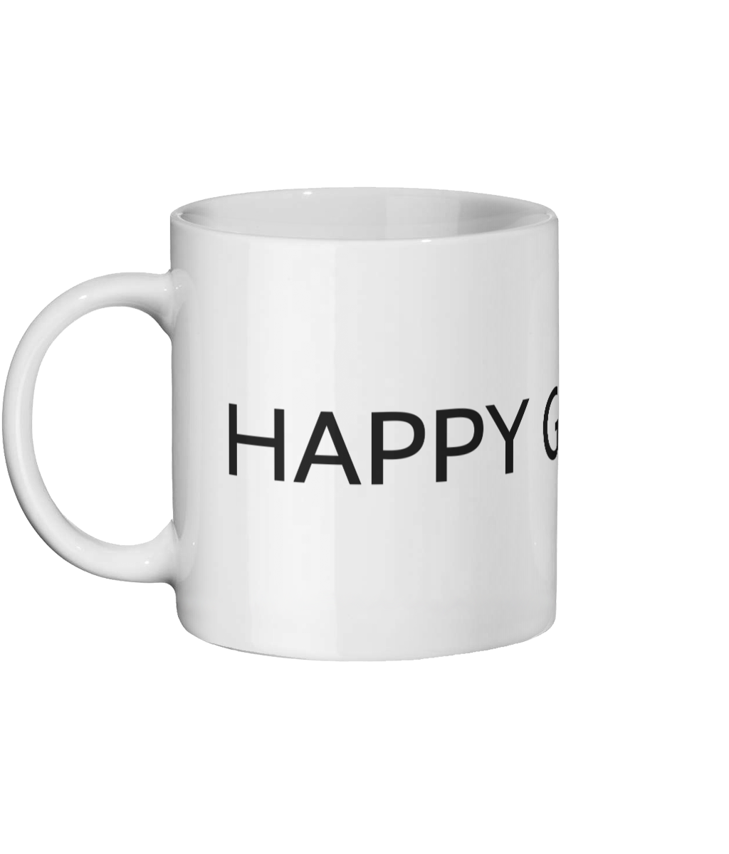 Happy Go Lucky Original Mug Ceramic