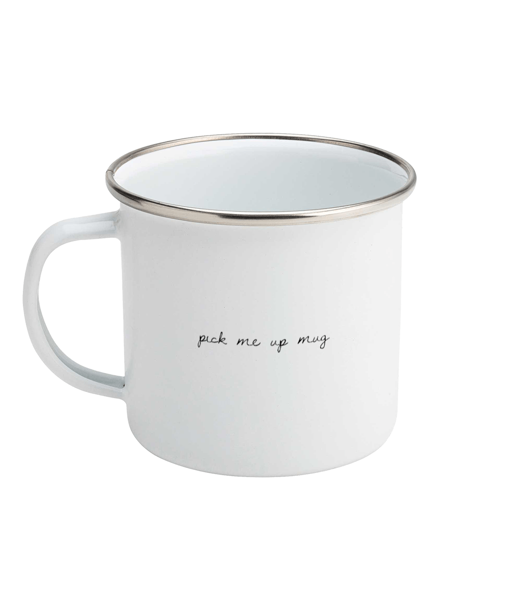 Pick Me Up Mug Enamel
