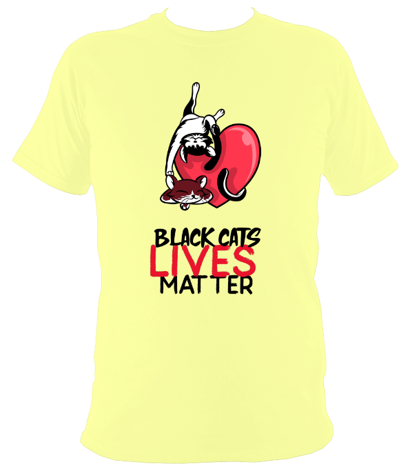 Black Cats Lives Matter Original T-Shirt