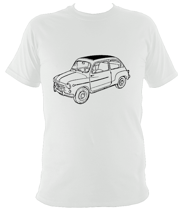 Fiat 600 Car Bizzarrini T-Shirt