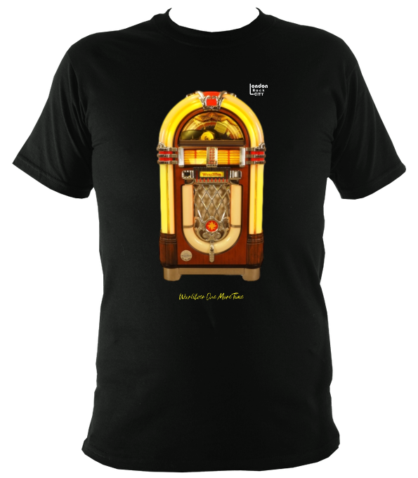 Wurlitzer One More Time Princess Jukebox Original Reverse T-Shirt