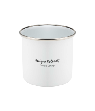 Unique Retreats Cowslip Cottage Original Mug Enamel
