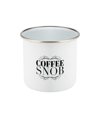 Coffee Snob Original Mug Enamel
