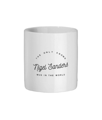 Nigel Sanders Colour Changing Ceramic Mug