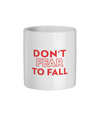 Don't Fear To Fall Original Mug Ceramic