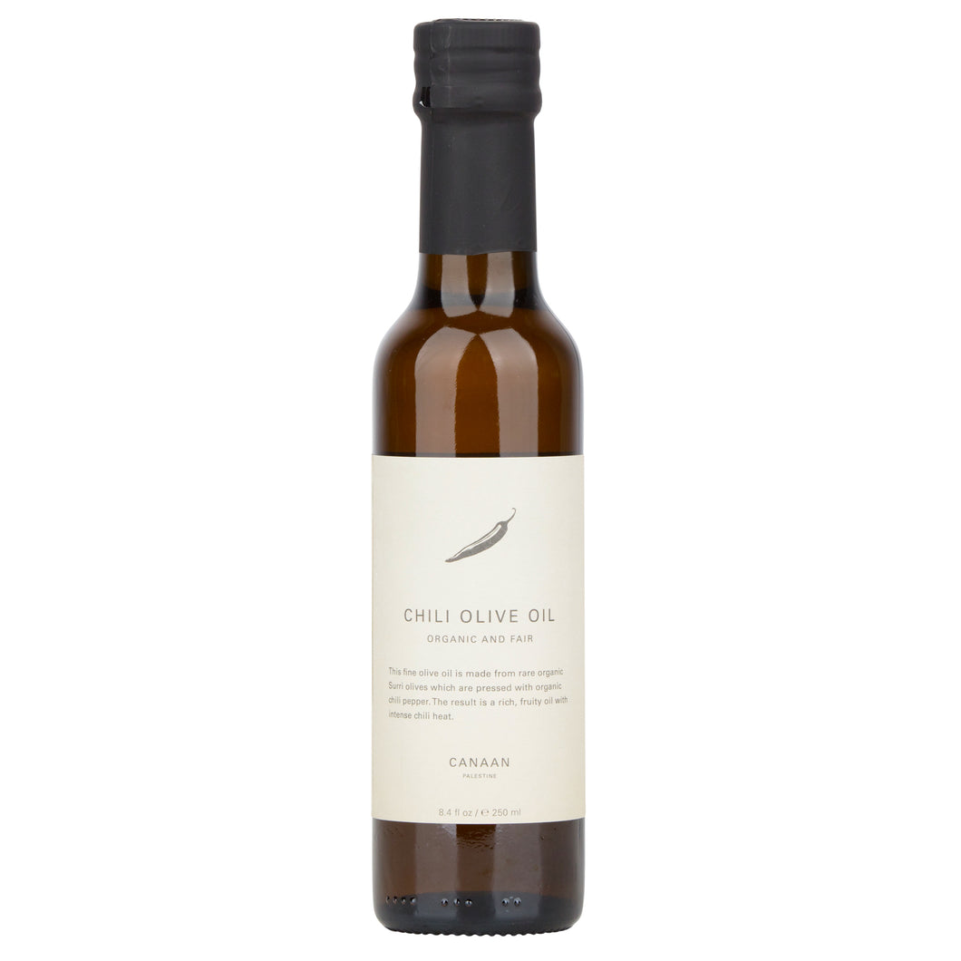 Chili Olive Oil, Cold Pressed & Organic