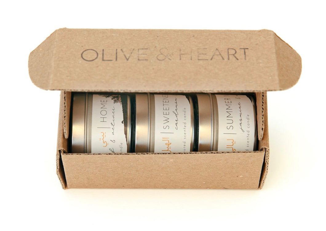 Gift Set Candle Trio