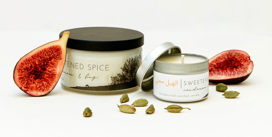 SWEETENED SPICE | cardamom & fig scented candle